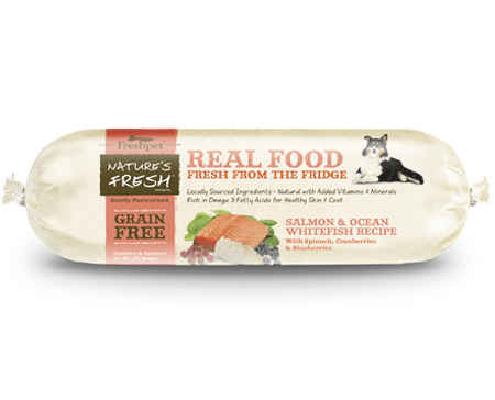 Freshpet Nature's Fresh® Dog Grain Free Salmon & Ocean Whitefish Roll 2lb