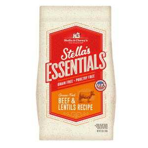 Stella & Chewy's Essentials Grain Free Grass-Fed Beef Dog Food (3lb, 25lb)