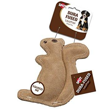 Ethical Products DURA-FUSED Leather Toys - Squirrel