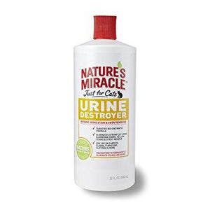 Nature's Miracle Just For Cats Stain & Odor Remover Spray (1qt - 1gal)