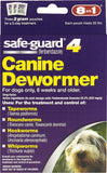 8in1 Safe-Guard 4 Canine De-Wormer for Medium Dogs 3 Day Treatment