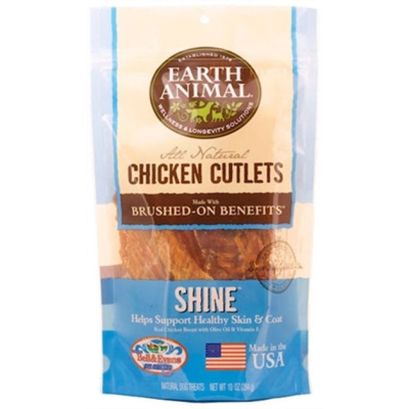 Earth Animal Chicken Cutlets - Shine - 8oz