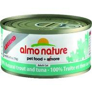 Almo Nature Legend 100% Natural Trout and Tuna Adult Grain Free Canned Cat Food 2.47-oz