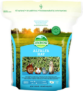 Oxbow Alfalfa Hay Small Animal Food 15 oz