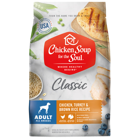 Chicken Soup Adult Dog Food 28lb bag
