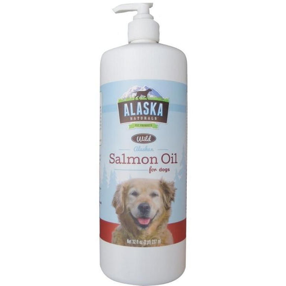 Alaska Naturals Salmon Oil For Dogs 8 - 32oz