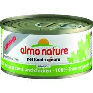 Almo Nature Legend 100% Natural Tuna and Chicken Adult Grain-Free Canned Cat Food, 2.47-oz