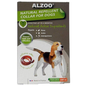 Alzoo Natural Repellent Collar For Medium Sized Dogs