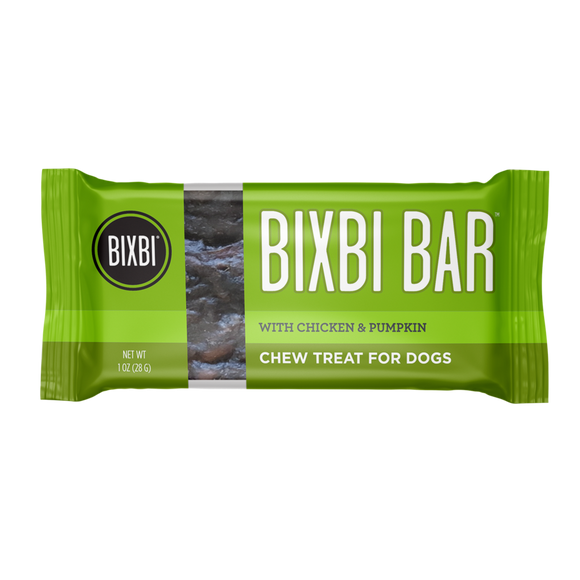 BIXBI Bar Chicken & Pumpkin 1oz (1 bar)