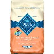 Blue Buffalo Large Breed Puppy Chicken & Brown Rice 30lb Dry Dog Food MAP ENFORCED-IN STORE PURCHASE MAY HAVE LOWER PRICE.