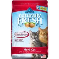 Blue Buffalo Naturally Fresh Walnut-Based Multi-Cat Quick-Clumping Cat Litter 26lb