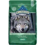 Blue Buffalo Wilderness Duck Dog Food (24lb Bag)