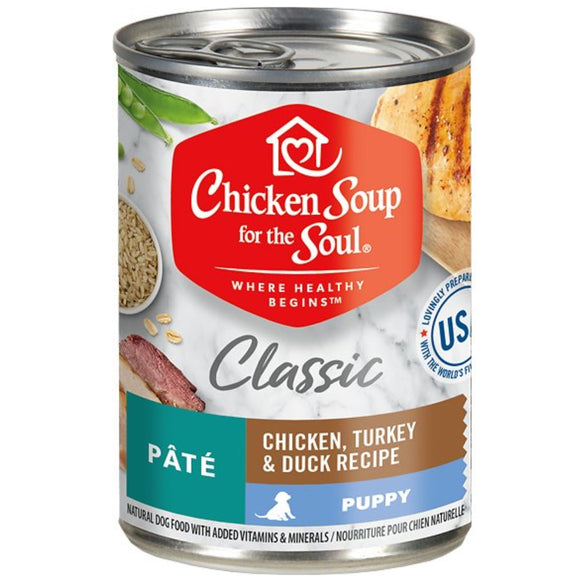 Chicken Soup Canned Food for Puppy 13.2oz
