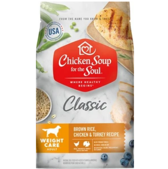 Chicken Soup Weight Care Dog Food (4.5lb-28lb)