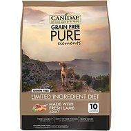 CANIDAE Grain Free PURE Elements with Lamb Dry Dog Food 24lb