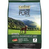CANIDAE Grain Free PURE Land with Bison Dry Dog Food 21lb