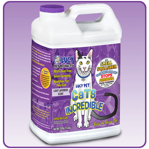 Cats Incredible Lavender 20lb Jug Litter (20lb - 40lb)