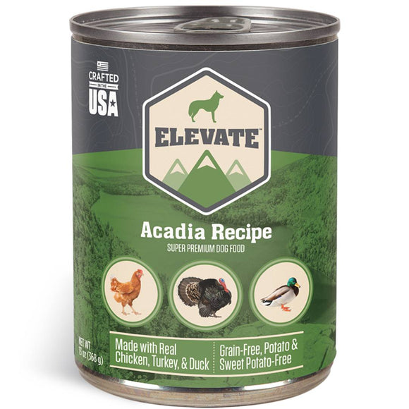 Elevate Acadia Canned Dog Food 13oz (MAP ENFORCED-IN STORE PURCHASE MAY HAVE LOWER PRICE)