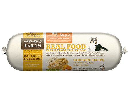 Freshpet Nature's Fresh® Dog Chicken & Brown Rice Roll (1-2lb)