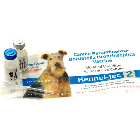 Kennel-Jec 2 Nasal Vaccine for Dogs and Puppies w/Dropper (Store Pick Up Only)