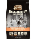 Merrick Backcountry Grain Free Raw Infused Pacific Catch Dry Dog Food, 4 lbs.