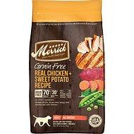 Merrick Grain-Free Real Chicken + Sweet Potato Recipe Dry Dog Food (4lb - 25lb)