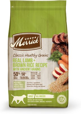 Merrick Classic Ancient Grains Lamb (4lb, 25lb)