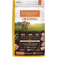 Nature's Variety Instinct Chicken Grain Free Dry Cat Food 86% Meat (5lb, 11lb)