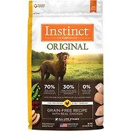 Instinct by Nature's Variety Original Grain-Free Recipe with Real Chicken Dog Food (4lb - 45lb) for Adult / Puppy / Senior