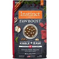 Instinct by Nature's Variety Raw Boost Grain Free Recipe with Real Beef Adult / Puppy / Senior Dog Food (4lb - 20lb)