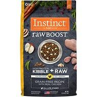 Instinct by Nature's Variety Raw Boost Grain Free Recipe with Real Chicken Adult / Puppy / Senior Dog Food (4lb - 42lb)