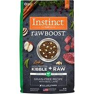 Instinct by Nature's Variety Raw Boost Grain-Free Recipe with Real Lamb Adult / Puppy / Senior Dog Food 4lb