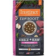 Instinct by Nature's Variety Raw Boost Grain-Free Recipe with Real Duck Small Breed Adult Dog Food 4lb