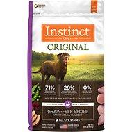 Instinct by Nature's Variety Original Grain-Free Recipe with Real Rabbit Dry Dog Food 4lb