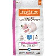 Instinct by Nature's Variety Limited Ingredient Grain-Free Diet with Real Turkey Dog Food (4lb) for Small Breed Adult