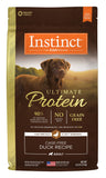 Instinct by Nature's Variety Ultimate Protein Grain-Free Cage-Free Duck Recipe Dog Food 4lb