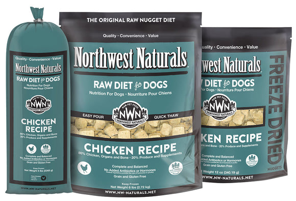 Northwest Naturals Chicken Frozen Raw 25lb