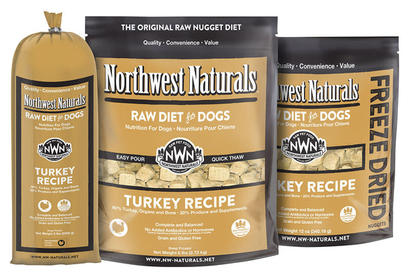 Northwest Naturals Turkey Frozen Raw 25lb