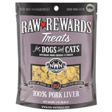 Northwest Naturals Freeze-Dried Raw Livers 3oz (Beef or Pork)