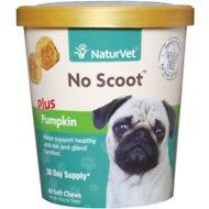 NaturVet No Scoot Dog Soft Chews 60 Count