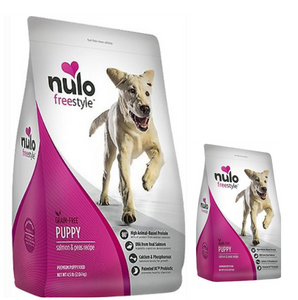 Nulo Freestyle Salmon & Peas Recipe Grain-Free Puppy Dry Dog Food (4.5lb, 24lb)