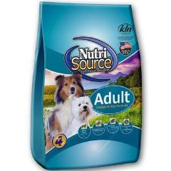 Nutrisource Adult Chicken & Rice Dog Food (33lb - 66lb)