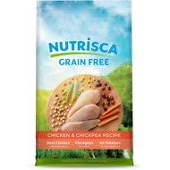 Nutrisca Grain-Free Chicken & Chickpea Recipe Dry Dog Food 4lb - QUALIFIES FOR NO MINIMUM ORDER IN YUBA CITY
