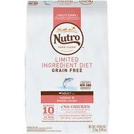 Nutro Grain Free/No GMO/Limited Ingredient Diet Salmon 22lb Bag Dog Food
