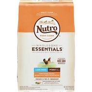 Nutro Wholesome Essentials Large Breed Adult Farm Raised Chicken, Brown Rice & Sweet Potato Recipe Dry Dog Food 30lb
