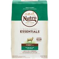 Nutro Wholesome Essentials Adult Pasture Fed Lamb & Rice Recipe Dry Dog Food 30lb