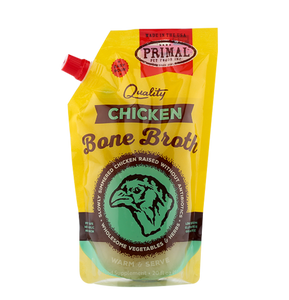 Primal Frozen Raw Chicken Bone Broth 20oz