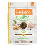 Nature's Variety Instinct Be Natural Real Chicken & Brown Rice Recipe Freeze-Dried Raw Coated Dry Dog Food Kibble (4.5lb, 25lb)