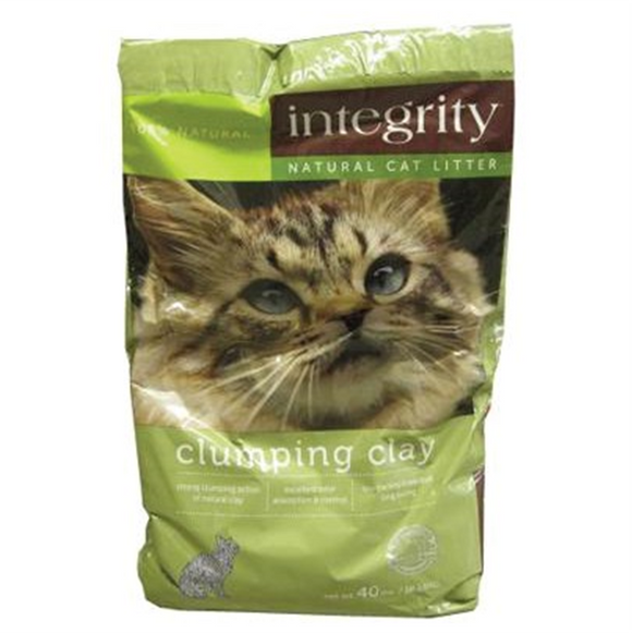 Integrity Clumping Clay Cat Litter (16lb, 40lb)