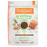 Nature's Variety Instinct Be Natural Real Salmon & Brown Rice Recipe Freeze-Dried Raw Coated Dry Dog Food Kibble (4.5lb, 25lb)